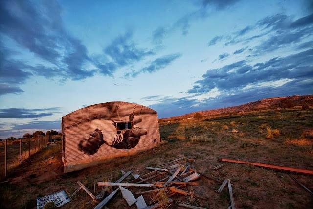Jetsonorama New Piece In Arizona, USA