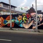 David Choe New Mural In Hawaii