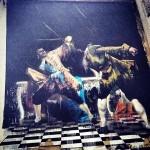 "Conor Harrington ""The Duel Of Bristol"" New Mural In Bristol, UK"