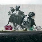 "Conor Harrington ""San Juan Fight Club II"" New Mural For Los Muros Hablan '13 – San Juan, Puerto Rico"