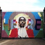 Conor Harrington x Maser New Mural In London, UK