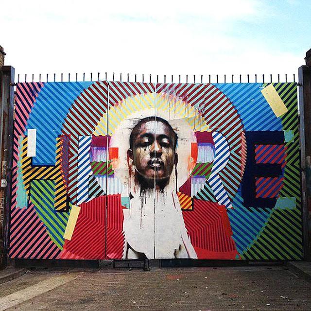 Conor Harrington x Maser New Mural In London, UK