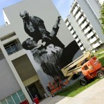 Work In Progress By Conor Harrington For Los Muros Hablan '13 – San Juan, Puerto Rico