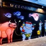 Cranio New Mural In London, UK