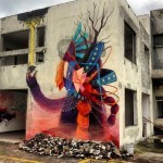 Curiot New Street Art Mural For Proyecto Frágil In Mexico