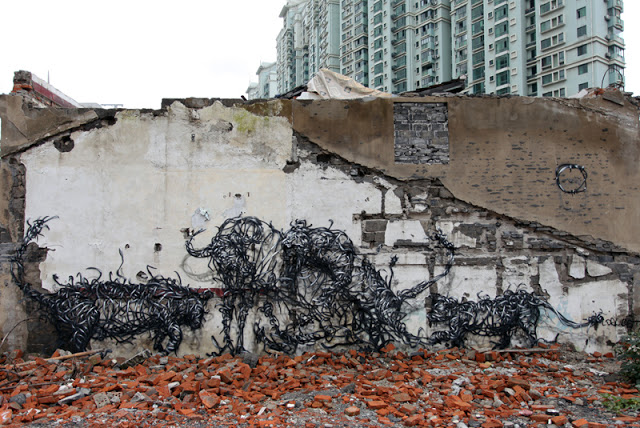 "DAL ""T4"" New Mural In Shanghai, China"