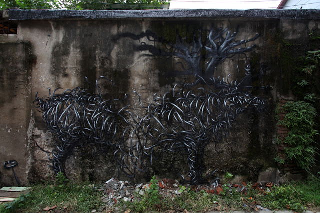 DAL New Mural In Wuhan, China