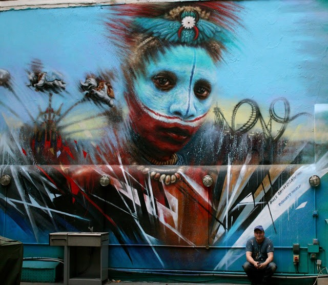 Dale Grimshaw New Mural In London, UK