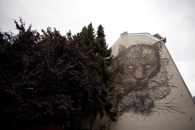 DALeast New Mural In Heerlen, Netherlands