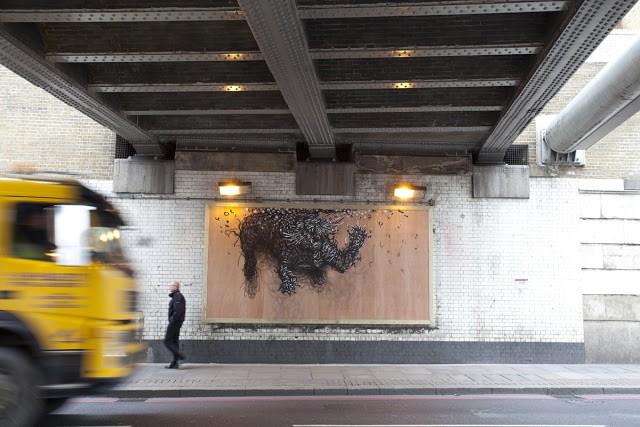 DALeast New Mural In London, UK (Part VI)