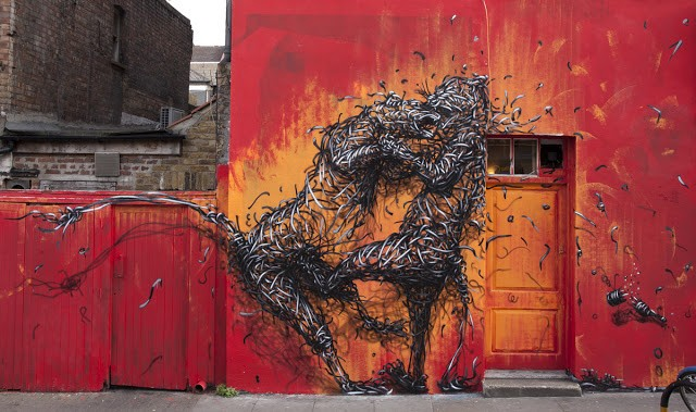 DALeast New Mural In London, UK (Part IV)