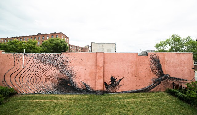 DALeast New Mural In Rochester, USA