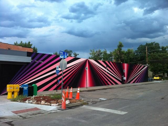 Dalek New Mural In Boulder, USA