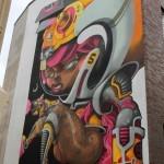 Danjer Mola New Street Art For CityLeaks '13 In Cologne, Germany