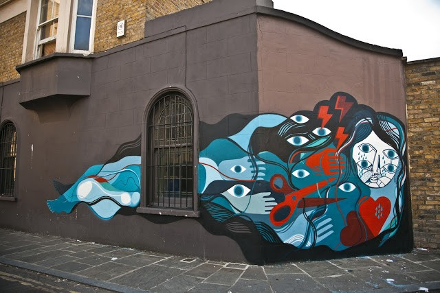 David Shillinglaw New Mural In London, UK