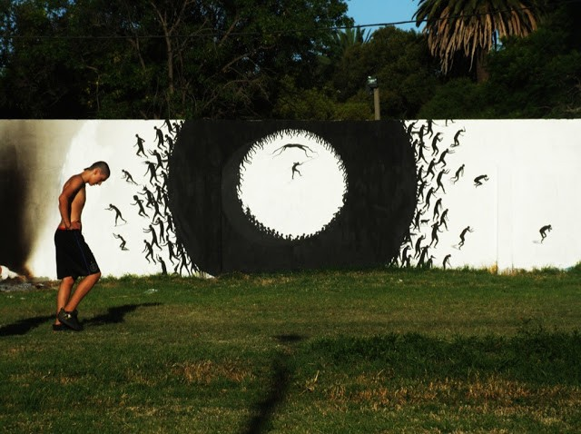 David De La Mano New Mural In Montevideo, Uruguay