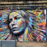 David Walker New Mural In London, UK