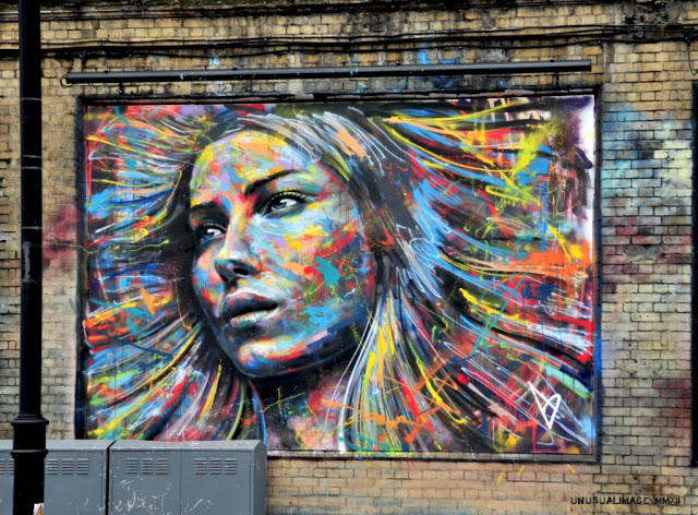 David Walker New Mural In London, UK