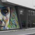 David Walker New Mural In Paris, France