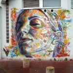 David Walker New Mural In Vitry, France