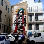 Deih New Street Art For Incubarte '13 – Valencia, Spain