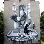 Dome New Mural In Warsaw, Poland