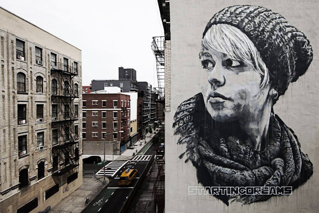 ecb New Mural In New York City, USA
