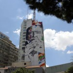 Eduardo Kobra New Mural In Progress, Sao Paulo, Brazil