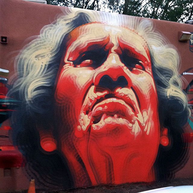 El Mac x Kofie New Mural In Santa Fe, USA
