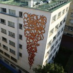 eL Seed New Mural At The Maison De Tunisie – Paris, France