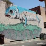 Ericailcane x Tellas x Crisa x Cireds New Mural In Cagliari, Italy