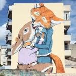 Ericailcane New Mural In Grottaglie, Italy