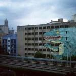 Ericailcane New Mural In Progress, Girona, Spain