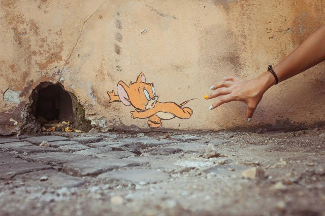 Ernest Zacharevic New Pieces In Italy