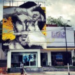 Ernest Zacharevic New Mural In Kuala Lumpur, Malaysia