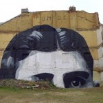 Escif New Mural In Prague, Czech Republic