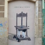 Escif New Street Piece In Valencia, Spain