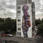 Etam Cru New Mural In Sofia, Bulgaria