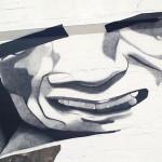 Claudio Ethos New Mural In Progress, Vardø, Norway