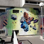 Etnik New Mural In Vitry, France