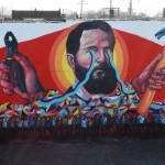 Ever New Mural In Cleveland, USA