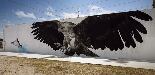 Evoca1 New Mural In Miami, USA