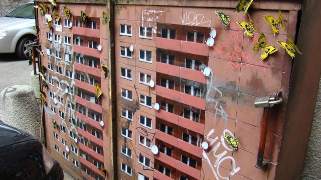 Evol New Street Piece In Warsaw, Poland