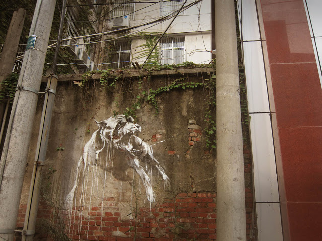 Faith47 New Mural In Wuhan, China