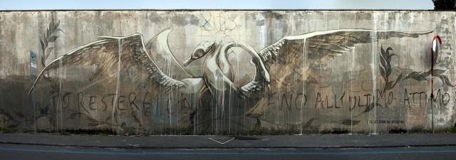 Faith47 New Mural In Gaeta, Italy