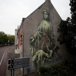 Faith47 New Mural In Heerlen, Netherlands