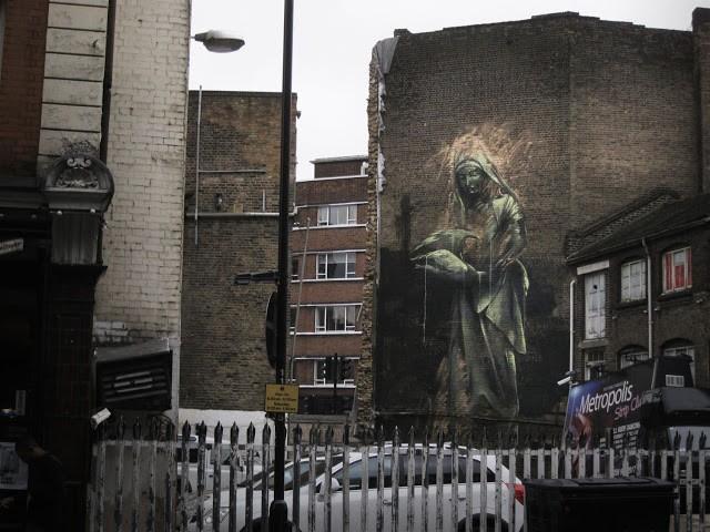 Faith47 New Mural In London, UK (Part II)