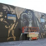 Faith47 New Mural In Progress, Miami, USA