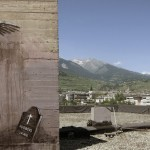 "Faith47 ""The Crime And The Gravity Of Human Actions"" New Street Piece In Sion, Switzerland"