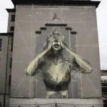 Faith47 New Mural In Vienna, Austria